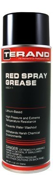 RED LITHIUM SPRAY GREASE T98011