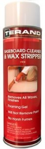 BASEBOARD CLEANER & WAX STRIPPER  T17819