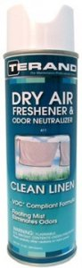 DRY AIR FRESHENER & ODOR NEUTRALIZER - Clean Linen T61110