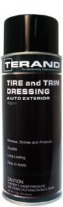 TIRE AND TRIM DRESSING - AUTO EXTERIOR T75311