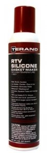 RTV SILICONE GASKET MAKER - RED - HIGH TEMPERATURE (6-PACK) T11508