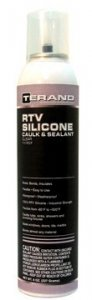 RTV SILICONE Caulk & Sealant - Clear (6-pack) T11707